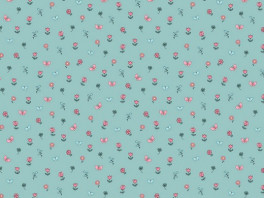 Poplin Pretty Princess - Mint