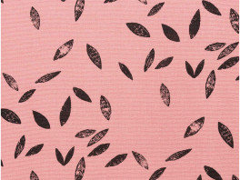 Canvas - Leaves - Roze