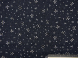 Jingle Snowflake - Navy