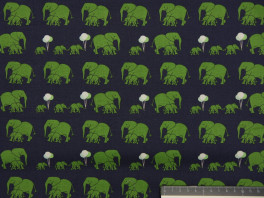 Safari Elephants - Blauw