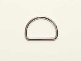 D-ring 30 mm - Zilver