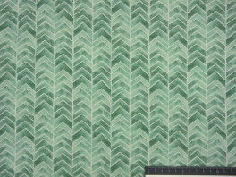 Emilie - Chevron - Mint