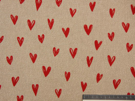 Canvas - Hearts/Lurex