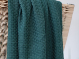 Wicker Knit - Green Pine