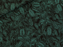 Cosy House Plants - Viscose Rayon - Black