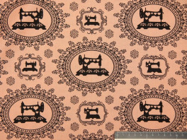 Pink - Sewing Damask