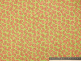 Hippie Paisly - Lime/Roze