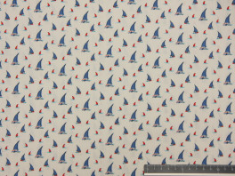 Sailing boats - Wit/Blauw