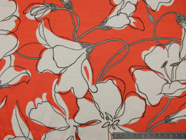 Satin Viscose - Flowers