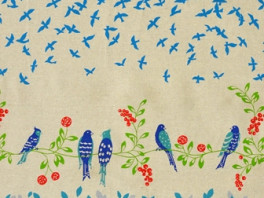 Bird Song - Blauw