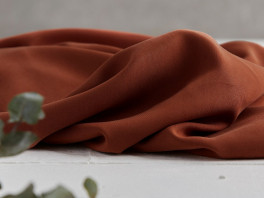 Tencel Twill Medium - Rust
